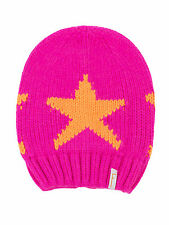 (421) Kinder Mütze FREAKY HEADS Beanie Wintermütze Big Star mit Logo Flag gr.51