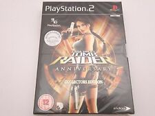 Lara Croft Tomb Raider Anniversary Collectors Edition PS 2  Brand New and Sealed