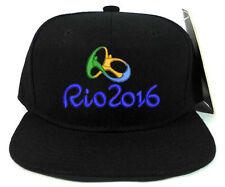 RIO 2016 OLYMPIC SNAPBACK CAP HAT FANS SOUVENIR COLLECTIBLES