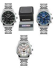 SKMEI Formal Men Quartz Watch Luxury Stainless Steel Date w/ Box & Warranty Card