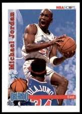 1992-93 NBA Hoops #298 Michael Jordan Chicago Bulls