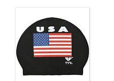 Brand New - TYR USA Latex Swim Cap