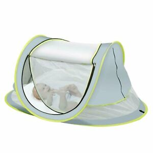 Baby Beach Tent, Large Portable Baby Travel Bed, UPF 50+ UV Protection Sun...