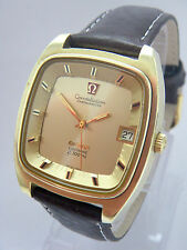1972 Omega Constellation oro capped f 300 Hz cal 1250 Model 198.0027 Top