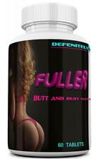 FULLER CURVES Female Butt and Bust Enlargement Pills. Naturally Increase...