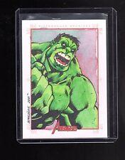 2012 Marvel Greatest Heroes Borgonos sketch card