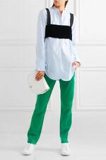 RAG & Mika Track Pants BONE Kelly Verde/Off-White Taglia M PASSERELLA Runway esaurita