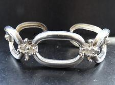 Vintage Silber 835 Marken Design Damen Armband Silber Schmuck Ungetragen NOS