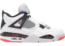 free shipping ffd0f 4ae73 Mens Air Jordan Retro 4 IV Bright Crimson White Black Pale Citron 308497-116