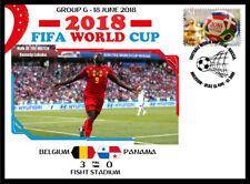 BELGIUM V PANAMA 2018 FOOTBALL WORLD CUP GROUP G MATCH COVER - ROMELU LUKAKU