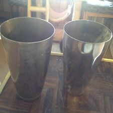 Stainless steel mixing cups