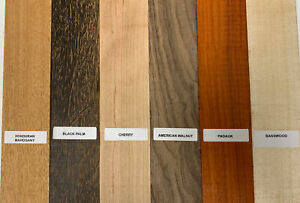 """6 PACK COMBO, 6 Species, Cutting Boards/Thin Dimensional Lumber 1/2"""" X 16"""""""