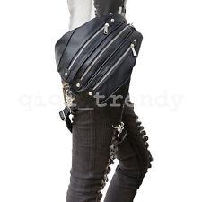 Fashion Steampunk Belt Bag Waist leg Hip Holster Purse Pouch Packs Shoulder Bag