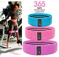 EVO Fitness Pro Elastic Exercise Resistance Bands /& Expanders HIP CIRCLE Fabric