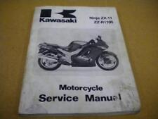 1993 2001 kawasaki ninja zx11 zz r1100 service repair manual