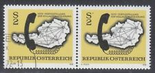 Austria 1972 MNH & CTO NH Mi 1409 Sc 937 Map of Austrian Telephone System