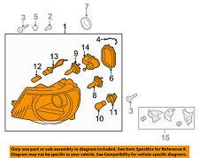 VW VOLKSWAGEN OEM 07-11 Eos-Headlight Assembly 1Q0941006D