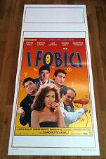 I FOBICI locandina poster Sabrina Ferilli Luca Laurenti Gianmarco Tognazzi AC13