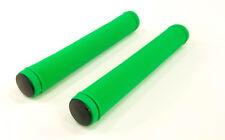 TRACK,FIXIE BIKE/STUNT KICK SCOOTER HANDLEBAR BAR GRIPS GREEN