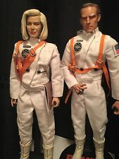 "Rare Custom 1/6  ""Figure-Master"" Sideshow Planet Of The Apes Astronaut Figures"