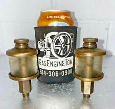 Victor Lubricator Brass Rod Oiler Hit Miss Gas Engine Antique