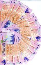 LOT, Cook Islands, 20 x $3, 1992, P-7, UNC