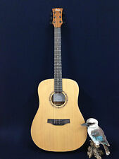 "41"" Klema K100DC Solid Cedar Top Acoustic Guitar,Natural Matt w/Free Gig Bag"