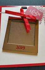 Lenox 2019 Square Photo Frame Ornament
