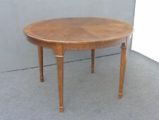 Vintage Drexel Heritage French Country Style Dining Table w Two Leaves