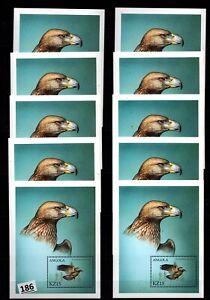 # 10X ANGOLA - MNH - BIRDS