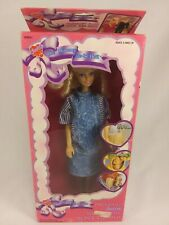1990s Judith The Mommy-To-Be Doll Pregnant Mom & Baby