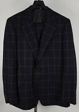 New mens US 44 Paul Smith London Abbey Road black suit blazer jacket coat check