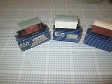 3 x HORNBY DUBLO WAGONS-BOXED
