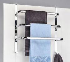 Toalleros de baño de metal color principal plata
