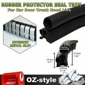 Cars Edge Trim Rubber Seal Strip Top Side Bulb Help Anti-Collision Soundproof 4M
