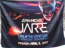 JEAN-MICHEL JARRE Live @ the Dead Sea 2017 Masada Zero Gravity FLAG CLOTH POSTER