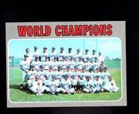 1970 Topps # 1 Mets World Champions Ex-Mt