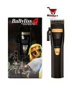 BaByliss PRO Cordless Clipper Sofie Pok Influence Line Black & Gold FX870B