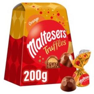 Limited Edition Maltesers Orange Truffles Gift Box 200G