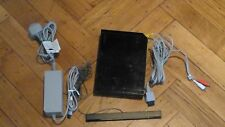 Nintendo Wii 512MB Black Console + Wii Balance Board (w/risers) + Games and more