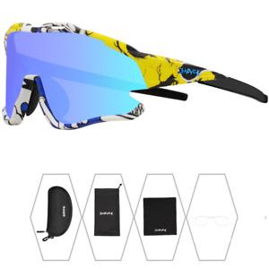 Cycling Sunglasses Sport Eyewear Men Outdoor Goggles UV400 Bicycle Glasses Women