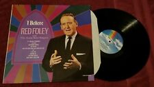 """Red Foley with the Anita Kerr Singers....""""I Believe"""" 12"""" Vinyl Record LP"""