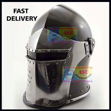New Super Medieval Barbute Helmet Armour Helmet Roman knight helmets ////