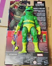 Marvel Legends Frog Man Figure Loose Spider-Man Into the Spider-Verse new