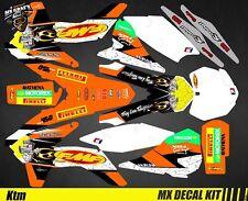 Kit Déco Moto pour / Mx Decal Kit for Ktm SX / SX-F - FMF