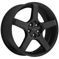 "Milanni 464 VK-1 22x8.5 5x4.5"" +12mm Satin Black Wheel Rim 22"" Inch"