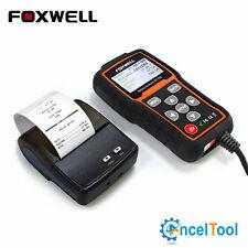 12V 24V Car Battery Tester Battery Analyzer Foxwell BT705 With Mini Printer