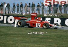 Niki Lauda Ferrari 312 B3 British Grand Prix 1974 Photograph 4