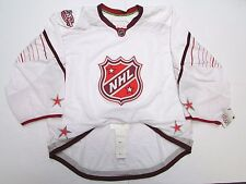 2011 NHL ALL STAR GAME AUTHENTIC WHITE REEBOK EDGE 2.0 7287 JERSEY GOALIE CUT 60