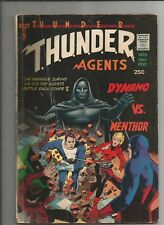 THUNDER AGENTS  #3 VG- VERY GOOD- OW/WHITE PAGES SILVER AGE TOWER COMIC 1966